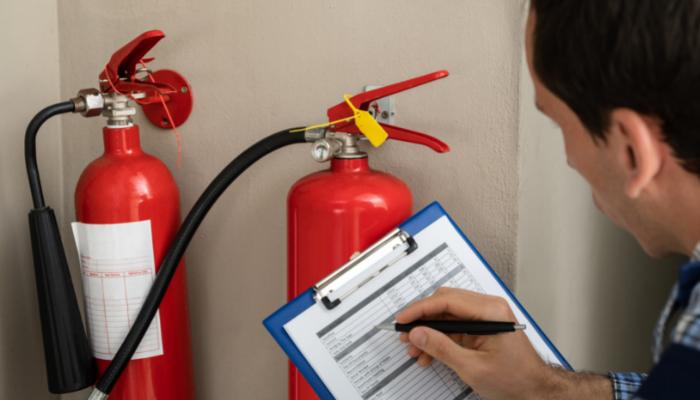 Fire appliance inspection